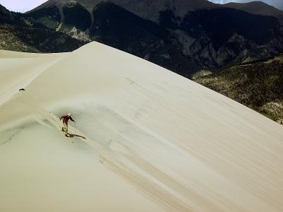 Skiing at the Great Sand Dunes National Park